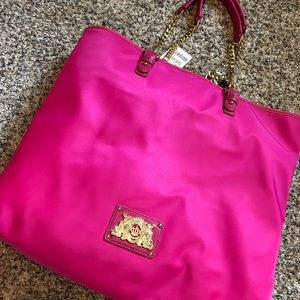 ❤️⭐️🌈NWT Juicy Couture hot pink tote bag ❤️⭐️✌️